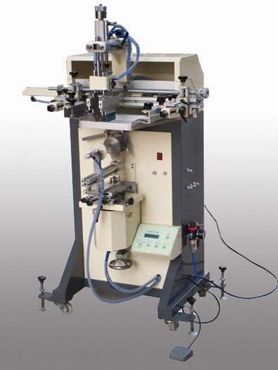 曲面絲印機、化裝品、洗發水瓶絲印機、塗料桶圓型絲印機 1