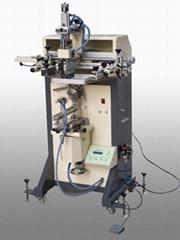 曲面丝印机、化装品、洗发水瓶丝印机、涂料桶圆型丝印机