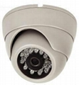 Plastic Trumpet Shell Design IR Dome Camera