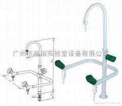 實驗室專用三口化驗水龍頭