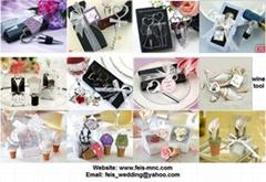 wedding wine tool set(stopper opener)