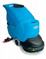 車間通道手推式自動洗地機