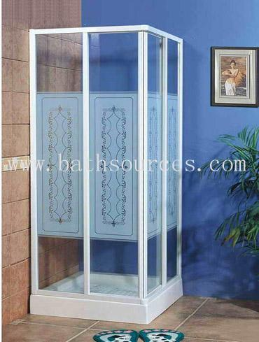 Never explode of plexiglass door acrylic shower panel shower Enclosure 1 ... & Never explode of plexiglass door acrylic shower panel shower ...