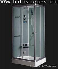 steam shower room cubicle cabin house enclosure