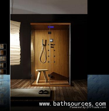 Wooden Steam shower Room shower cabin shower cubicle house - WA ...