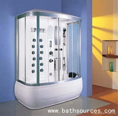 steam cubicle shower cabin sauna enclouser house room
