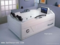 with TV massage bathtub jacuzzi surf whirlpool spa 1