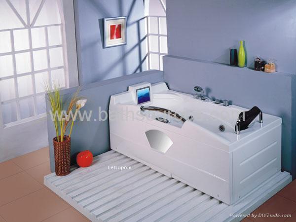 with TV massage bathtub jacuzzi surf whirlpool spa 3