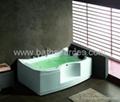 with TV massage bathtub jacuzzi surf whirlpool spa 4