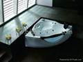 with TV massage bathtub jacuzzi surf whirlpool spa 5