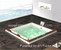 Building in bathtub massage jacuzzi surf whirlpool  3