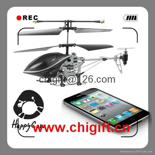 iHelicopter iDevice 3ch  iphone Controlled  Helicopter 777-170