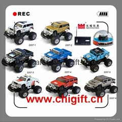 2207 8cm Mini Hummer RC Car with LED light