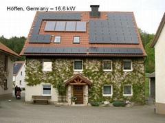 组合式蓄热可控多路循环太阳能供热系统