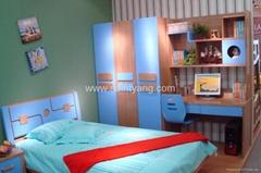 8827 Children Colourful Bedroom Set