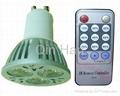 dimmable LED spotlight GU10 3W