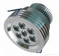 LED downlight 7W 700 lm