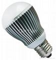 power LED bulb E27 5W