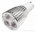 Cree LED spotlight GU10 3X3W 480 lm