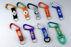 carabiner keychain bottle holder aluminium