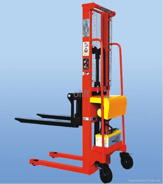 Electric High Lift Pallet Truck A119 120 Olift China