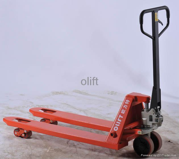 Stainless Steel Hand Jack : Stainless steel pallet jack a olift china