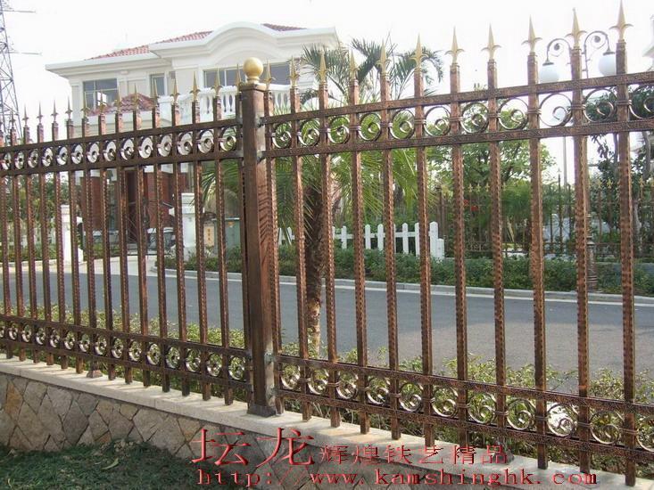 供应围墙铁艺栏杆 1