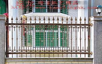 供应围墙铁艺栏杆 2