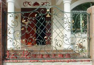 供应高品质铁艺围墙栏杆 1
