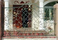 供应高品质铁艺围墙栏杆