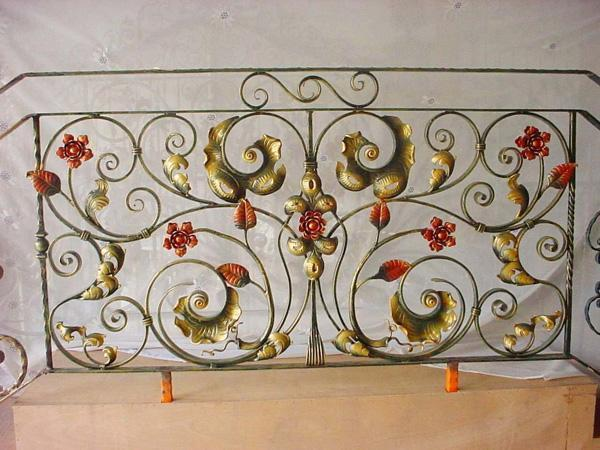 供应高品质铁艺围墙栏杆 2