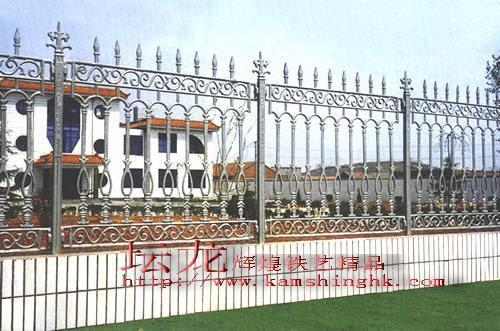 供应高品质铁艺围墙栏杆 4
