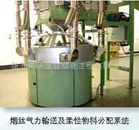 煙絲氣力輸送及柔性分配系統