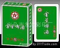 广告扑克,外贸扑克