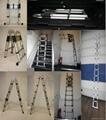 Telescopic 4 in 1 Multifunction Ladder