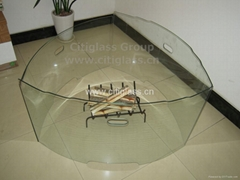 Fireguard Glass for fireplace/stoves