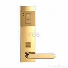 Stand-alone RF card intelligent lock