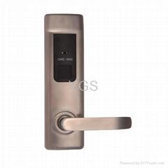RF card intelligent lock