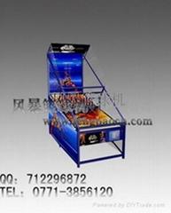 便攜式商用折疊型籃球機