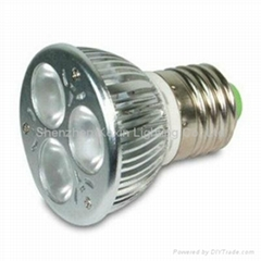 High power led spotlight  CREE LED E27 3X2W ceiling lamp bulb