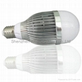 G70 9x1w high power led globe bulb