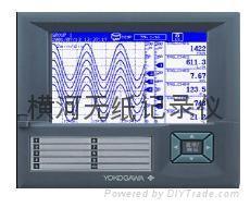 橫河AX系列無紙記錄儀 2