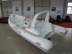 RIB520C Rigid hull infla