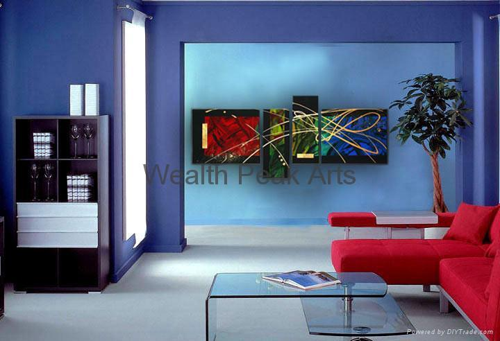 家居裝飾抽象畫-AB000910 2