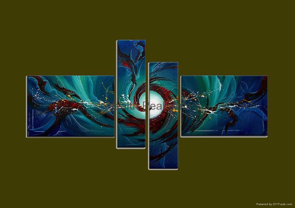家居裝飾抽象油畫-AB001099 1