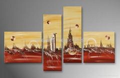 家居酒店装饰风景画-LS000568