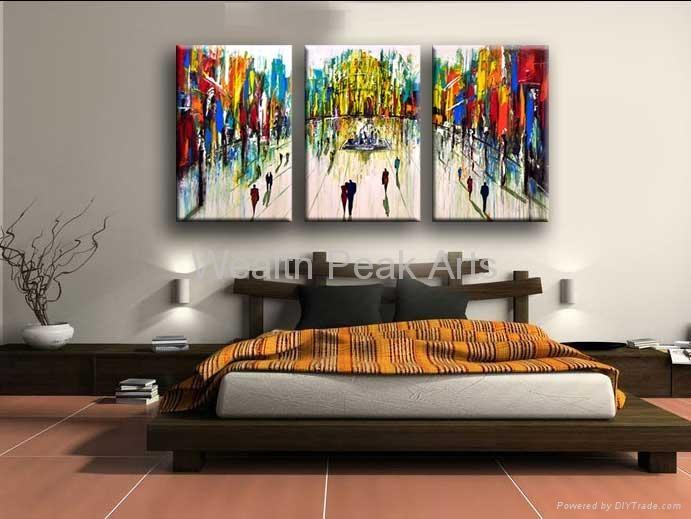 家居酒店裝飾風景畫-LS000668 5