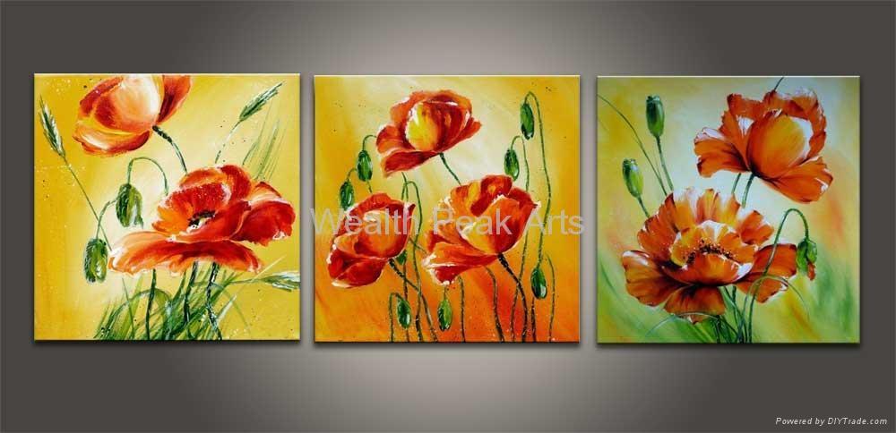 Flower Oil Paintings For Beginners