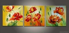 家居酒店装饰花卉画-FD030725