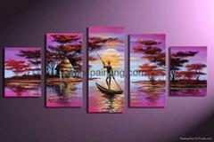 家居酒店裝飾風景畫-LS000294